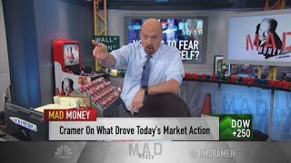 Cramer on why investors should follow earnings over the bond market