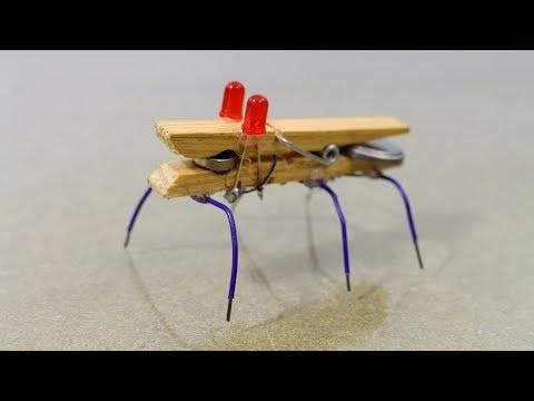 How to Make a Mini Robot bug - UC-BwprrMqmpQXvArJWNaKTA