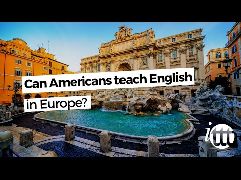video showing the perspective for americans to teach in europe
