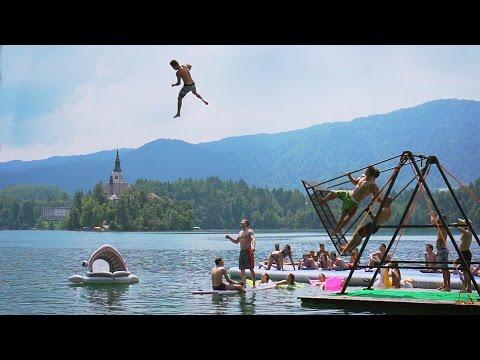 Extreme Russian Swing Flips into a Lake! | Daredevils - UCIJ0lLcABPdYGp7pRMGccAQ