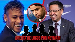 ¡Barcelona lanza la madre de todas las ofertas por Neymar!
