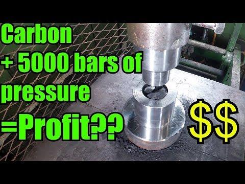 Can you Turn Coal/Carbon in to Diamonds with Hydraulic Press - UCcMDMoNu66_1Hwi5-MeiQgw