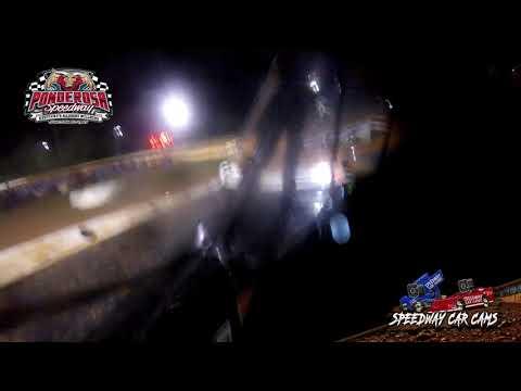 #97 Michael Chilton - Super Late Model - 8-6-21 Ponderosa Speedway - In-Car Camera - dirt track racing video image