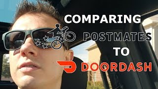 Comparing Driving For Postmates To Doordash