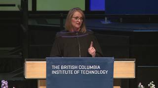 BCIT Convocation June 20, 2019 (9:00am) - Keynote Christine Day