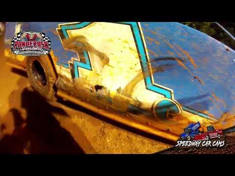 #1C Distin Cordier - Crate Late Model - 8-6-21 Ponderosa Speedway - In-Car Camera - dirt track racing video image