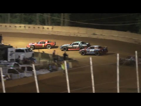 Stock V8 at Winder Barrow Speedway May 1st 2021 - dirt track racing video image