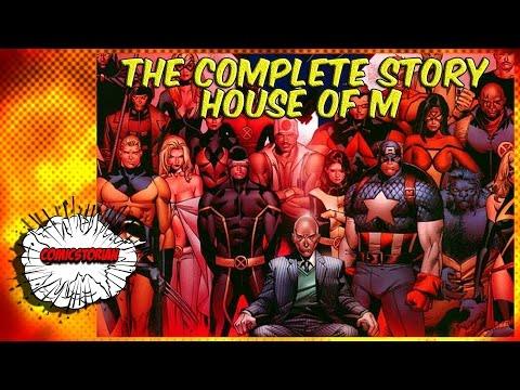House of M (X-Men) - Complete Story - UCmA-0j6DRVQWo4skl8Otkiw