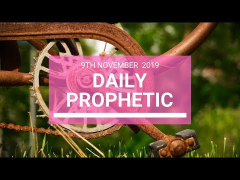 Daily Prophetic 9 November Word 5