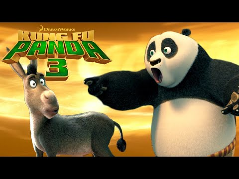Crazy Crossover!  Shrek & Kung Fu Panda?!? | KUNG FU PANDA 3 - default