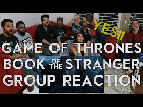 Game of Thrones - 6x4 Book of the Stranger - Group Reaction - default