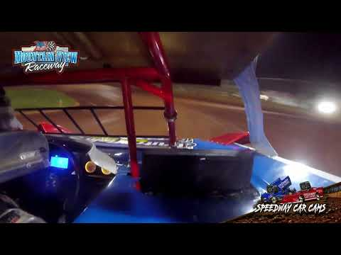 #18 Cade Crutchfield - Mini Late Model - 9-11-21 Mountain View Raceway - In-Car Camera - dirt track racing video image