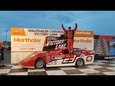 Jeff Crouse Racing.  🏁🏁Clean Sweep @ Viking Speedway🏁🏁.  6/26/21.  Super Stocks - dirt track racing video image