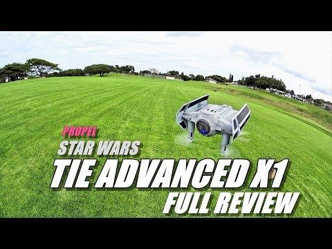 Propel STAR WARS Tie Fighter Advanced X1 Review - [Unboxing, Inspection, Flight Test, Pros & Cons] - UCVQWy-DTLpRqnuA17WZkjRQ
