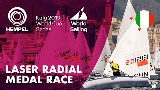 Laser Radial Medal Race | Hempel World Cup Series Genoa 2019