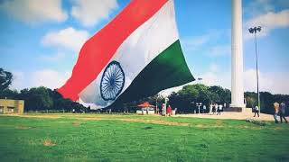 India's Biggest flagabout 72 feet x 108 feet. More Than 65 Kilos, Nearly  Rs 3 Crore Costing