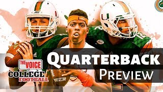Miami Hurricanes / Comparing the Quarterbacks
