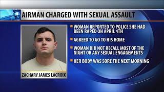 Airman facing sexual assault charge