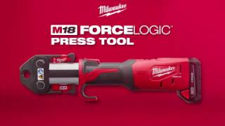 Torupress Milwaukee M18 BLHPT-202C + V presspihid 15/22/28 mm