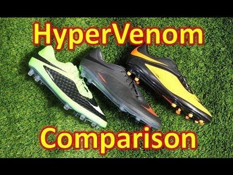 Nike HyperVenom Line Comparison - Phantom vs Phatal vs Phelon - UCUU3lMXc6iDrQw4eZen8COQ
