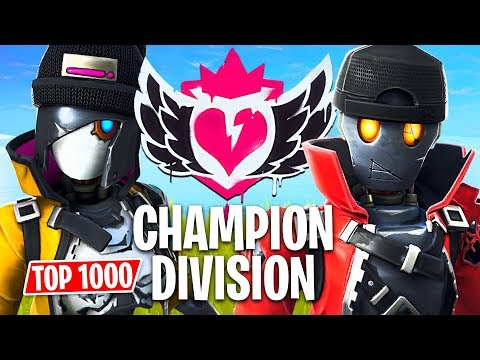 Fortnite CHAMPION DIVISION Tournament!! // Top 1000 Pro Players // (Fortnite Battle Royale) - UC2wKfjlioOCLP4xQMOWNcgg