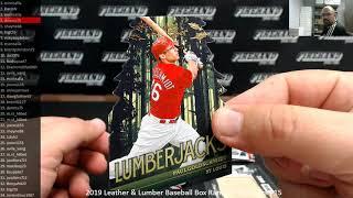 7/8/2019 2019 Leather & Lumber Baseball Box Random Numbers #15