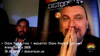 Entrevista a Chino Ponce en Arena Sonora 2020 (30.01.2020)