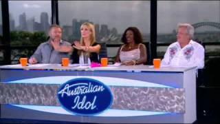 Delta Goodrem - Australian Idol - 16/08/09 (Part 1)