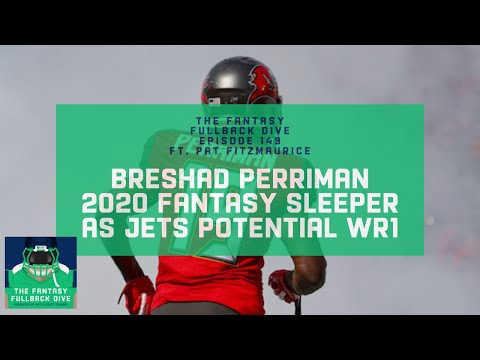 Breshad Perriman is a 2020 Fantasy Sleeper as Jets Potential WR1 | Fantasy Football Podcast