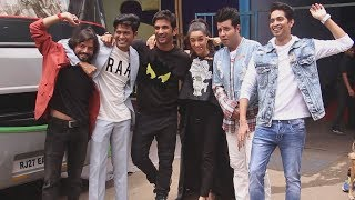 Shraddha Kapoor And Sushant Singh Rajput Spotted At The Kapil Sharma Show | Chhichore Promotion