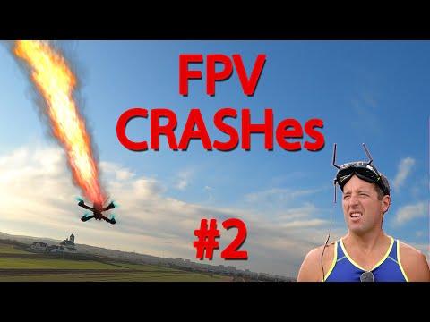 FPV DRONE CRASH COMPILATION #2 | august fails - UCSczDB_iYcKj32BgS1JHVFA