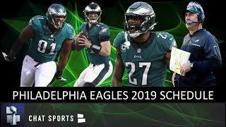 Philadelphia Eagles 2019 Schedule, Record Prediction, Game Previews & Opponent Breakdowns