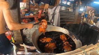 Chợ Thất Khê Cháy Vịt Quay Ngày Rằm Tháng 7 Với Phong Tục Đi Dương Tai (Đi Tết Bà Ngoại )