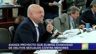 RED+ | Avanza proyecto que elimina conexidad de delitos sexuales contra menores