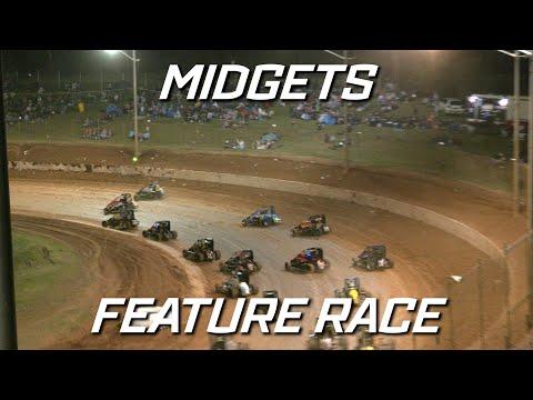 Speedcars: TFH Midget Series R01 - A-Main - Archerfield Speedway - 02.10.2021 - dirt track racing video image