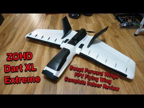 ZOHD Dart XL Extreme Swept Forward Wings FPV Flying Wing - UCsFctXdFnbeoKpLefdEloEQ