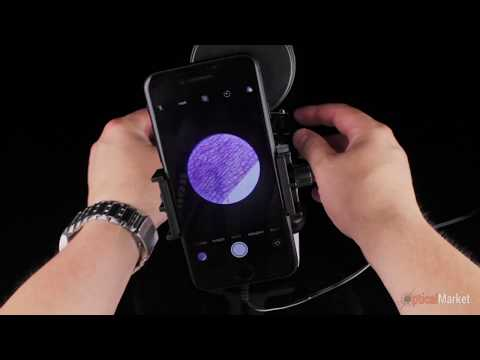 Мікроскоп Optima Explorer 40x-400x + смартфон-адаптер
