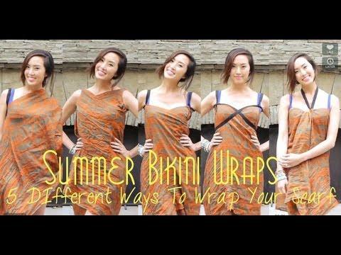 Summer Bikini Wraps- 5 Different Ways To Wrap Your Scarf - UCZpNX5RWFt1lx_pYMVq8-9g