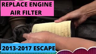 Cambio filtro aria FORD KUGA da 2013