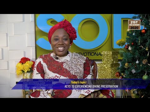 Dr Becky Paul-Enenche - SEEDS OF DESTINY  MONDAY DECEMBER 21, 2020