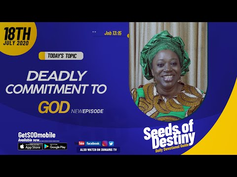 Dr Becky Paul-Enenche - SEEDS OF DESTINY - SATURDAY JULY 18, 2020