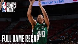 CELTICS vs GRIZZLIES | Grant Williams Leads All Scorers With 21 | MGM Resorts NBA Summer League