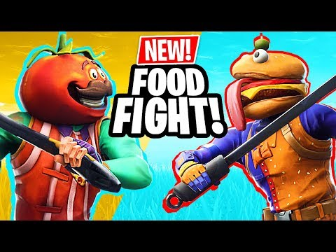 NEW UPDATE!! *FOOD FIGHT GAME MODE* (Fortnite Battle Royale) - UC2wKfjlioOCLP4xQMOWNcgg