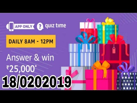 Which is the smallest state in India? Amazon quiz answer today| 18 February 2019