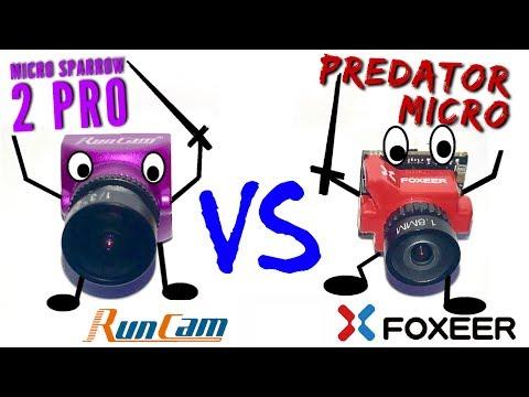 Foxeer Predator Micro V2 vs Runcam Micro Sparrow 2 Pro: guerra de microcámaras - UCMf2ohoBrB1pgErsMa21SKg