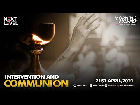 Next Level Prayer  Intervention And Communion  Pst Bolaji Idowu  21st April 2021