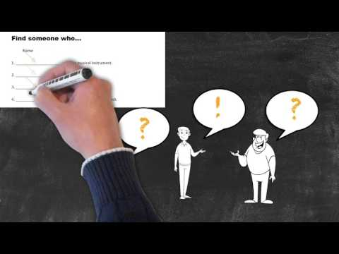 Overview of All English Tenses - Present Tenses - Present Simple - Find Someone Who