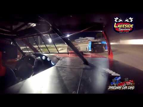 #9 Slade Mohr - USRA B Mod - 5-14-2021 Lakeside Speedway - In Car Camera - dirt track racing video image