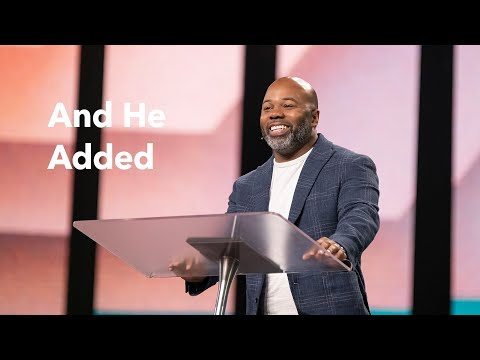 Gateway Church Live  And He Added by Pastor Jelani Lewis  May 29