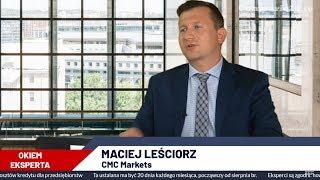 Frank zdrożeje? Maciej Leściorz z CMC Markets o sentymentach rynkowych | Okiem Eksperta 19.08